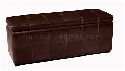 leather rectangle ottoman rectangular shape modern leather ottoman with storage