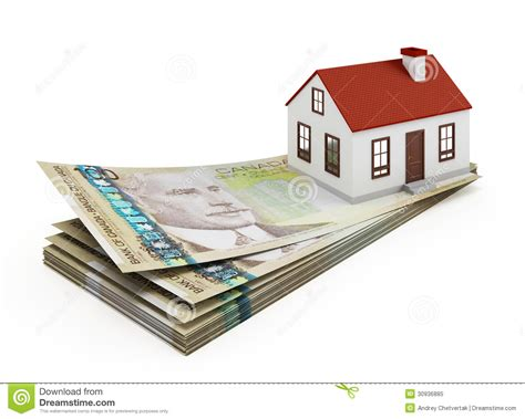 in house mortgage canada house mortgage royalty free stock photo image 30936885