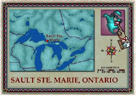 sault ste canada map mick dalla vee 187 the early days sault ste