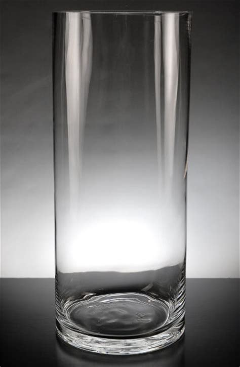 Where To Buy Glass Cylinder Vases by Clear Glass 5 X 13 Cylinder Vases Set Of 6