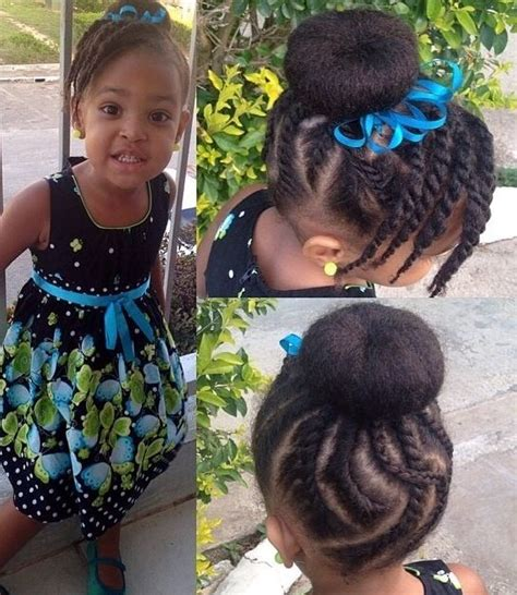 itching african bun hairstyles cornrow bun hairstyle with a twisted side bang natural