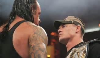 cena haircut 2015 wwe changed wrestlemania 32 plans undertaker vs john
