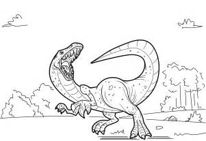 free printable dinosaur coloring pages barriee