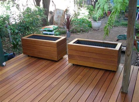 Deck Planter Boxes by Vintage Wooden Planter Boxes Interesting Ideas For Home