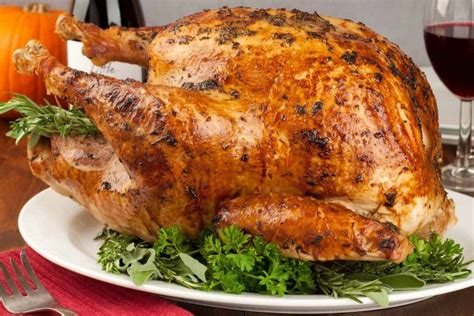 thanksgiving recipes without turkey herb roasted turkey recipe mygourmetconnection 174