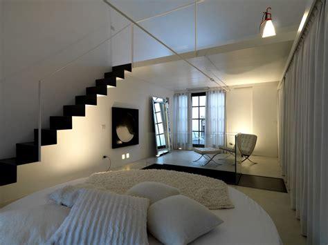 bedroom with loft 25 cool space saving loft bedroom designs