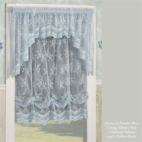 lace balloon curtains juliette lace balloon shade window treatment