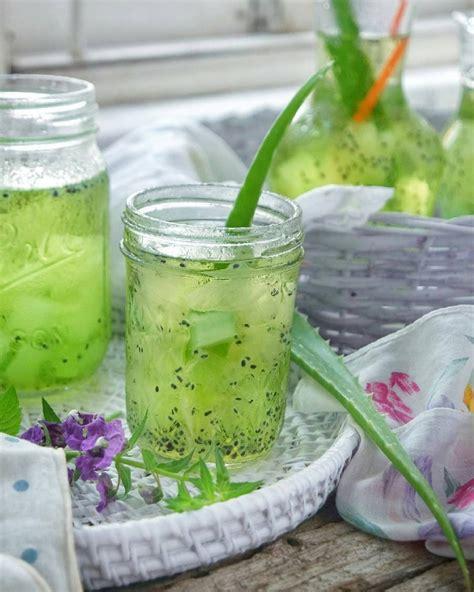 membuat es buah lidah buaya es lidah buaya cocok untuk persiapan bulan puasa ini resepnya