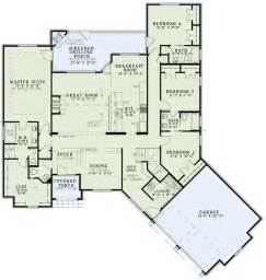 Main Floor Master House Plans by European Home With Open Floor Plan