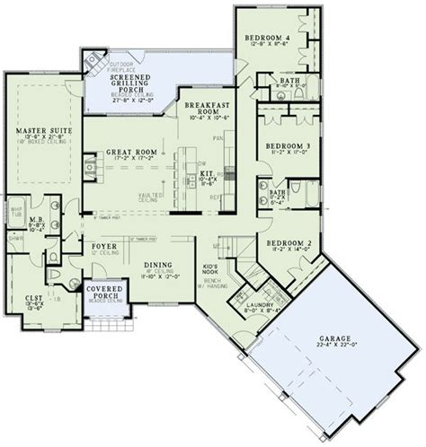 home plans with master on main floor european home with open floor plan
