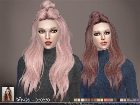 the sims resource tsr anime hair 199 by skysims sims 3 wingssims wings os0520