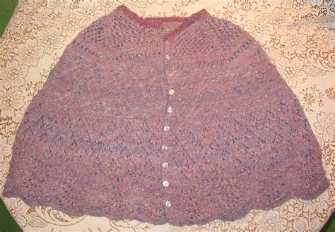 knit cape pattern cape knitting patterns patterns gallery