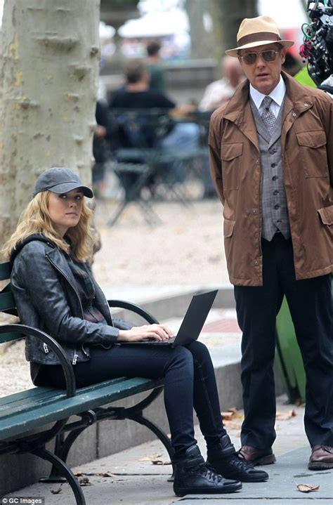 The Blacklist Wardrobe by Spader Looks Cool In A Panama Hat On The Nyc Set Of