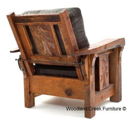 Rustic Livingroom Furniture Lodge Recliner Available At Woodland Creek Furniture