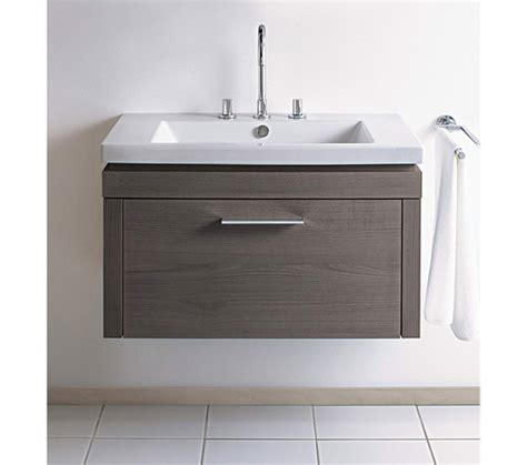 duravit 2nd floor 580mm wall mount vanity unit with basin