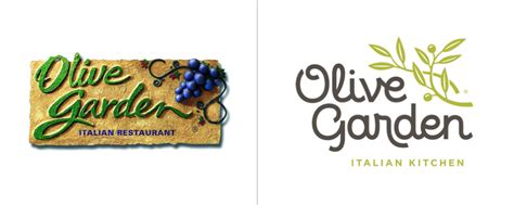 Olive Garden by Before After Olive Garden S New Logo The Dieline