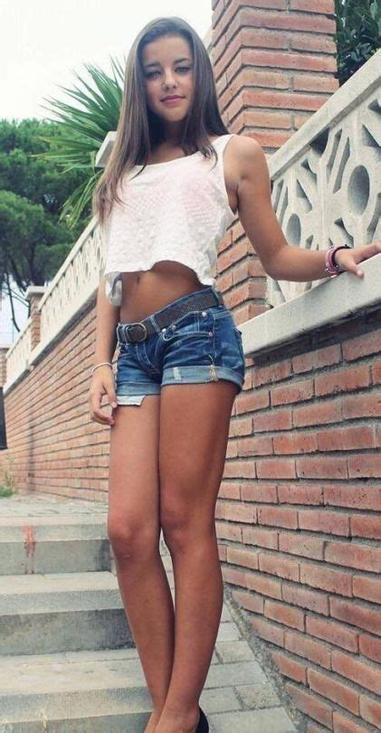 young girls shorts too short totally stunning easy on the eye pinterest