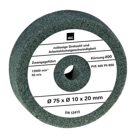 Polieren Mit Doppelschleifer by Einhell Doppelschleifer Zubeh 246 R Polierscheibe 75x10x20mm