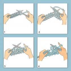 apprendre a tricoter le point mousse