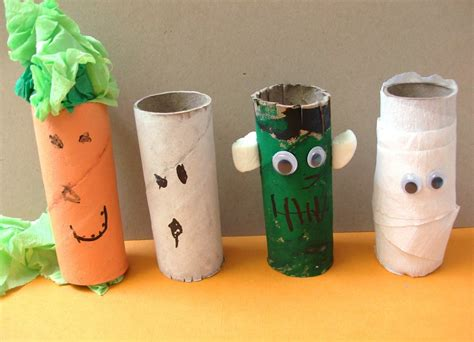 Craft Paper Rolls - 10 crafts for