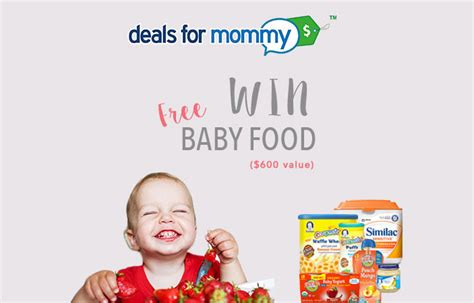 Baby Sweepstakes And Giveaways - baby food giveaway us only