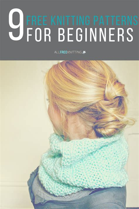 knit for beginners knitting for beginners 50 easy knitting patterns free