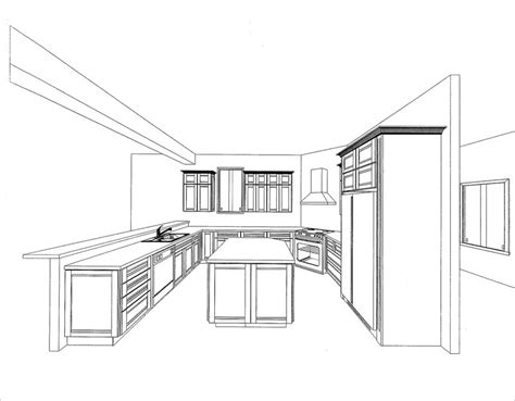 how to draw a kitchen floor plan kitchen options the new york times