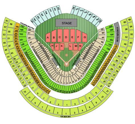 dodger stadium concert seating chart with seat numbers detailed dodger stadium seating chart brokeasshome