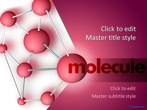 Free Chemistry Ppt Template Science Templates For Powerpoint