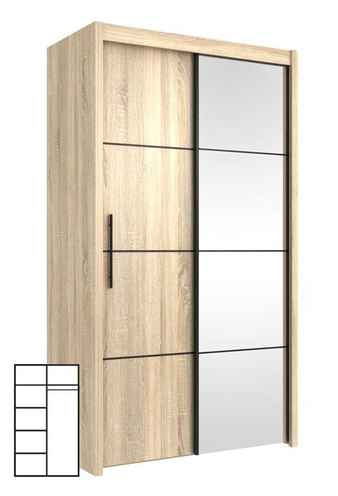 Kleiderschrank 150 Cm Breit Weiß by Schwebet 252 Renschrank Kleiderschrank Mit Spiegel 120cm