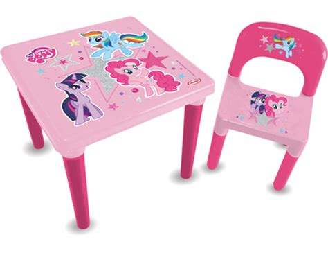 Pony Table And Chairs by Pony Activities Table Chair Set With