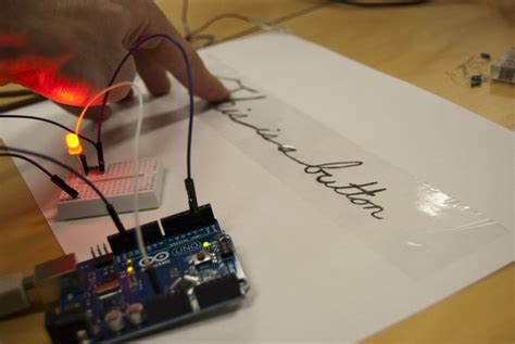 diy paper capacitor turn a pencil drawing into a capacitive sensor for arduino