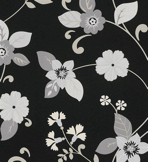imagenes de flores grises papel pintado flores gris y blanco nacarado fondo negro