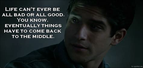 wolf quote things to come back to the middle