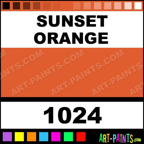 sunset orange it color paintmarker marking pen paints 1024 sunset orange paint sunset