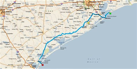 map port aransas texas maps