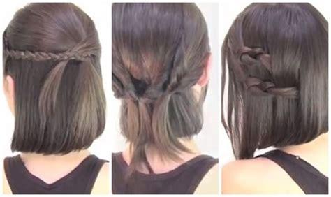 tutorial menguncir rambut pendek sebahu tutorial menata rambut pendek cara mengikat rambut