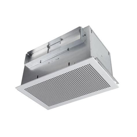 high capacity bathroom exhaust fans shop broan 2 3 sone 434 cfm white bathroom fan at lowes com