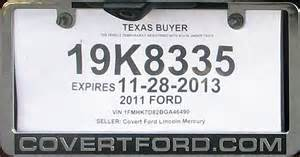new car temporary registration temporary license plate car interior design