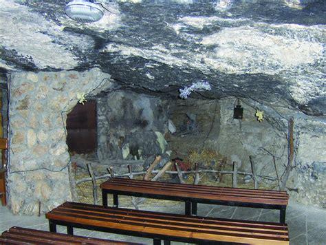 cave chapel  shepherds field bethlehem saint marys