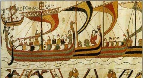 De La Tapisserie by Tapisserie De Bayeux Viking Norse 2