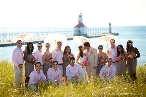 Beach Weddings in St. Joseph Michigan   Michigan Beach Weddings