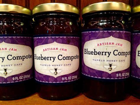 Blueberry Jam Keysha Series earth to plate series tupelo s blueberry compote mountain made by imladris farm southern