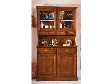 credenza classica legno massello vetrinetta in legno stile classico credenza classica in