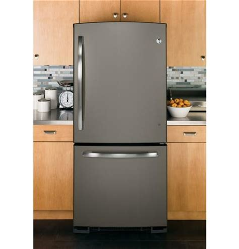 ge energy star  cu ft bottom freezer refrigerator