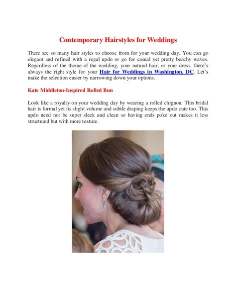 Contemporary Hairstyles by Contemporary Hairstyles For Weddings