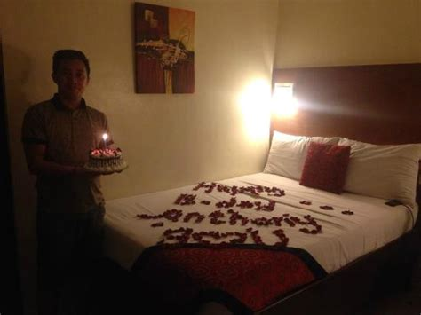 how to set up romantic bedroom romantic set up picture of view park hotel tagaytay