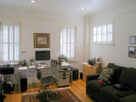 home office with sleeper sofa contemporary home office and guest room san francisco