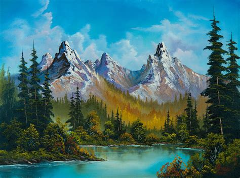 bob ross paintings sold autumn s magnificence painting by c