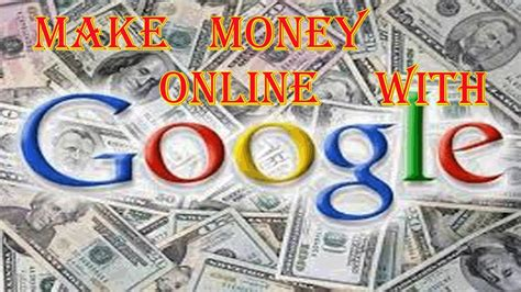 How Make Money Online With Google - work at home jobs how to make money online with google way to make over 1 000 per